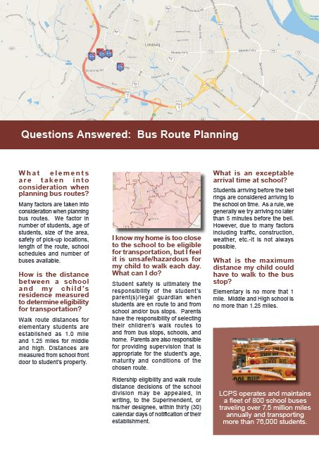 Questions Answered: Bus Route Planning