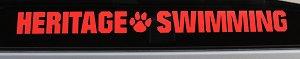 Swim Window Sticker