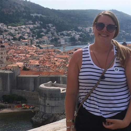 Ms. Holden visits Croatia!