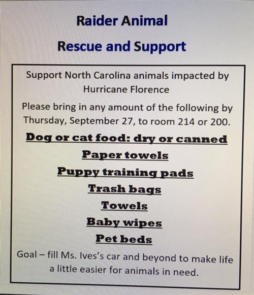 Please support the animals!