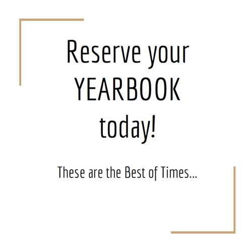 Reserve Your Yearbook