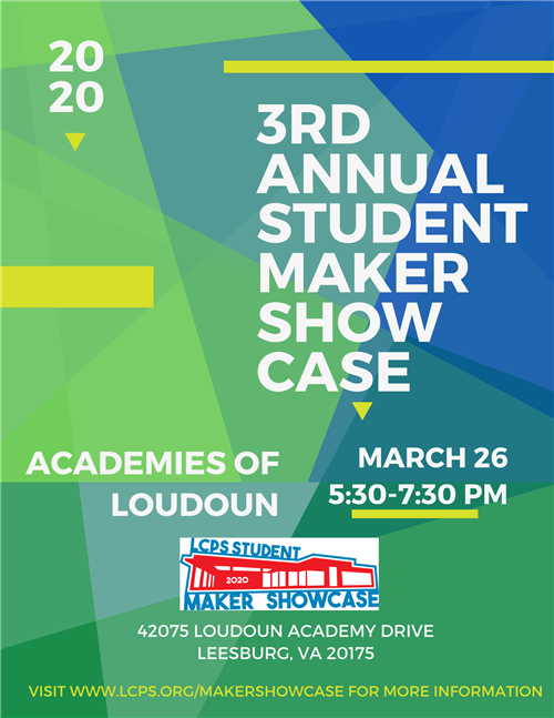 Maker Showcase Flyer