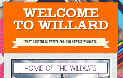 Welcome to Willard  - All the Information You Need Newsletter