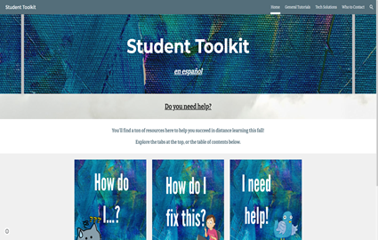 Toolkit Website for Students