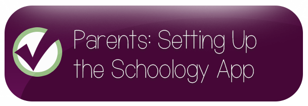 setting up the schoology app