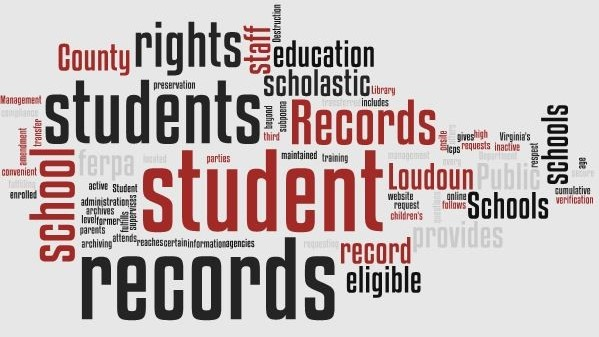 Student Records Collage