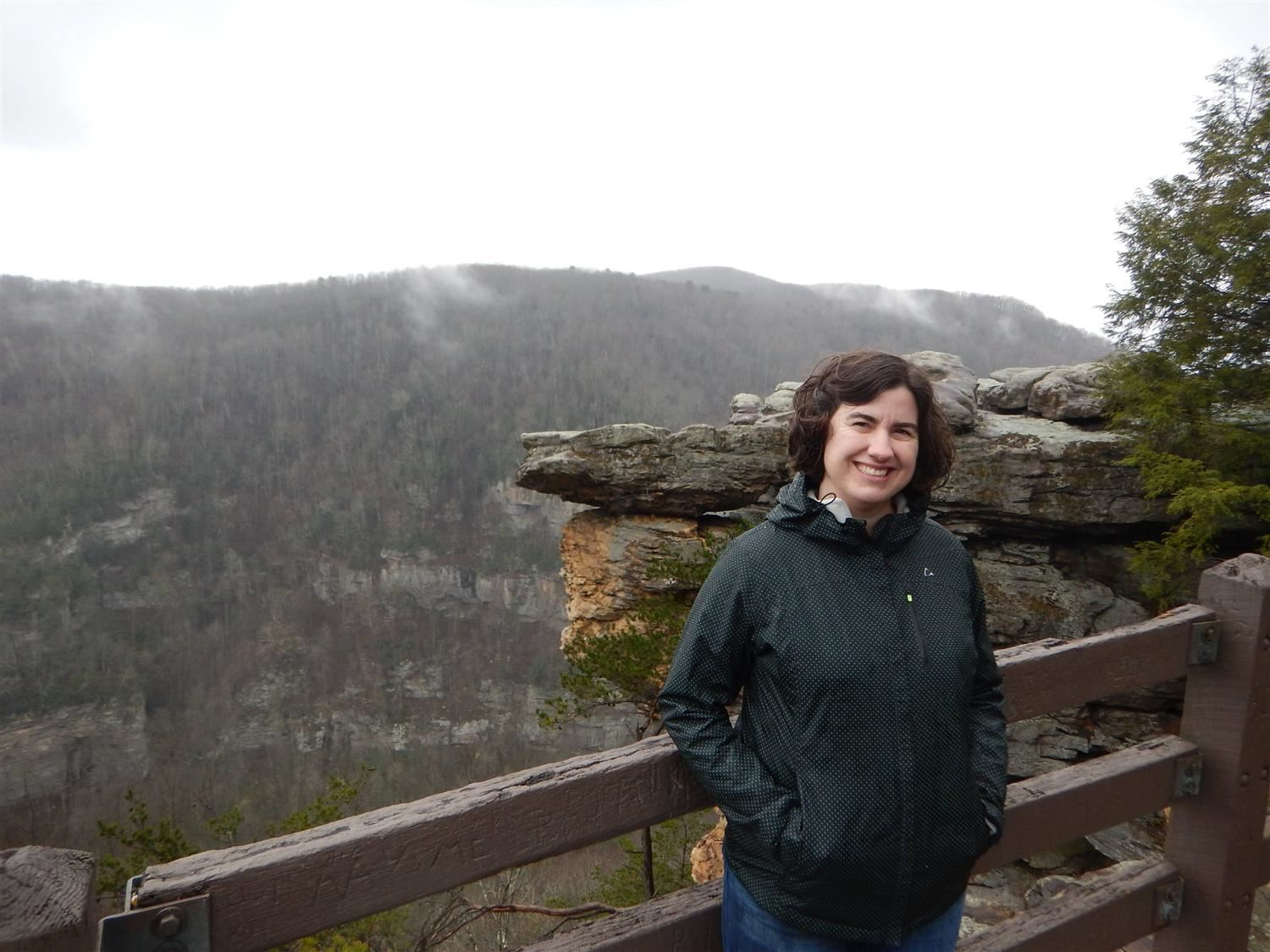 I love exploring Virginia, this is at Breaks Interstate Park.