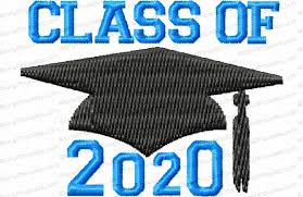 Class of 2020 Graduation June 12 @ 8 AM