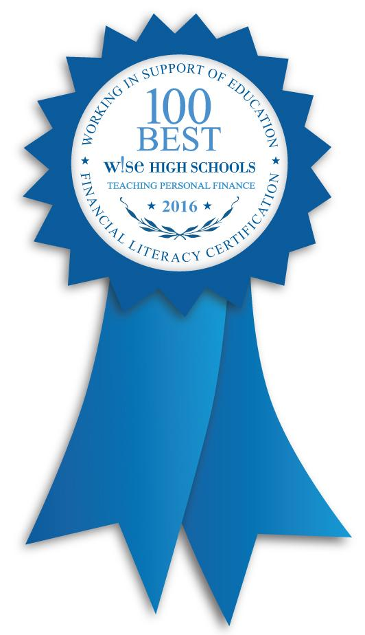 LCHS - 100 Best W!SE High Schools Teaching Personal Finance