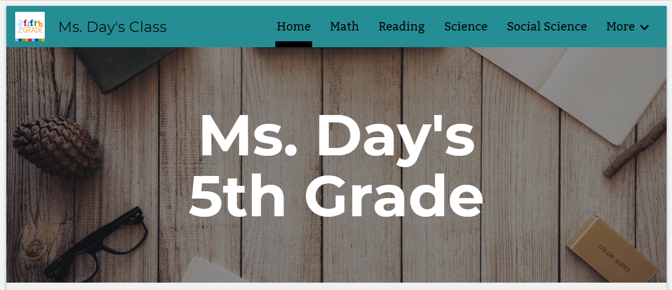 Ms. Day's Google Site