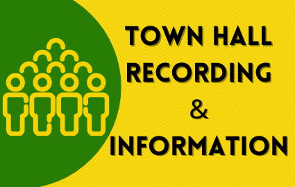 TOWN HALL RECORDING AND INFORMATION