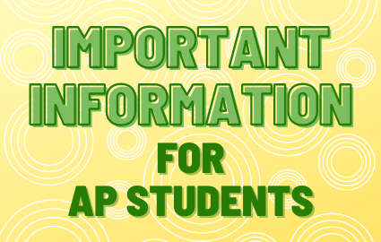 Important Information for AP Students
