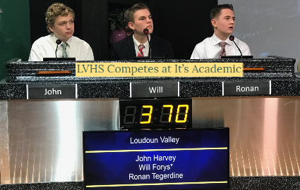 LVHS Students compete at It's Academic