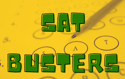 SAT BUSTERS IS BACK