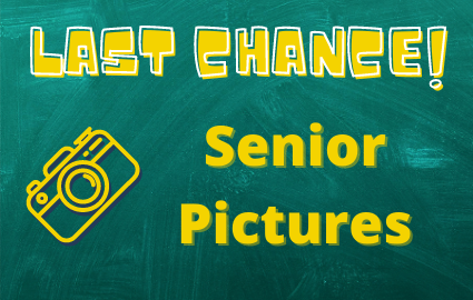 Last Chance for Senior Pictires!