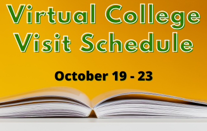 Virtual College Visit October 19 - 23
