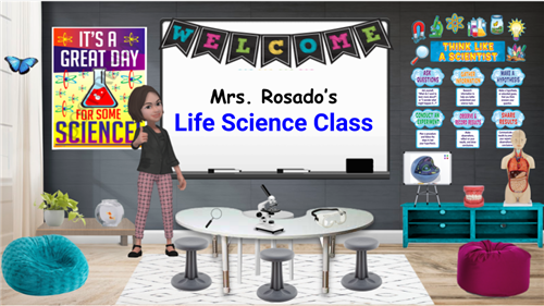 Graphic of virtual classroom