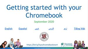 Getting Started with Chromebooks