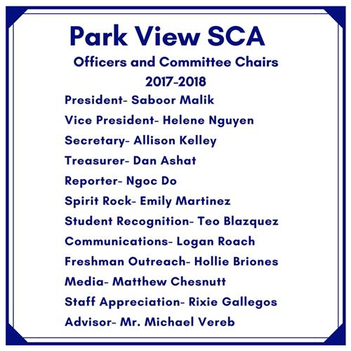 sca officers