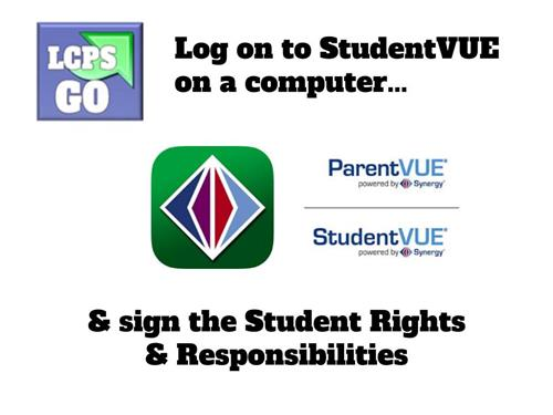 Sign the Student Rights & Responsibilities