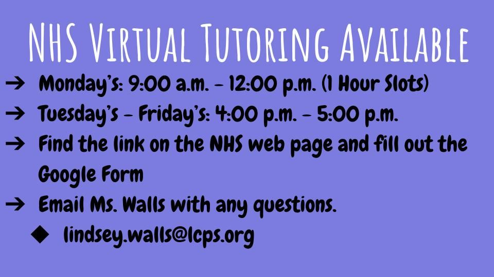 Apply for Tutoring