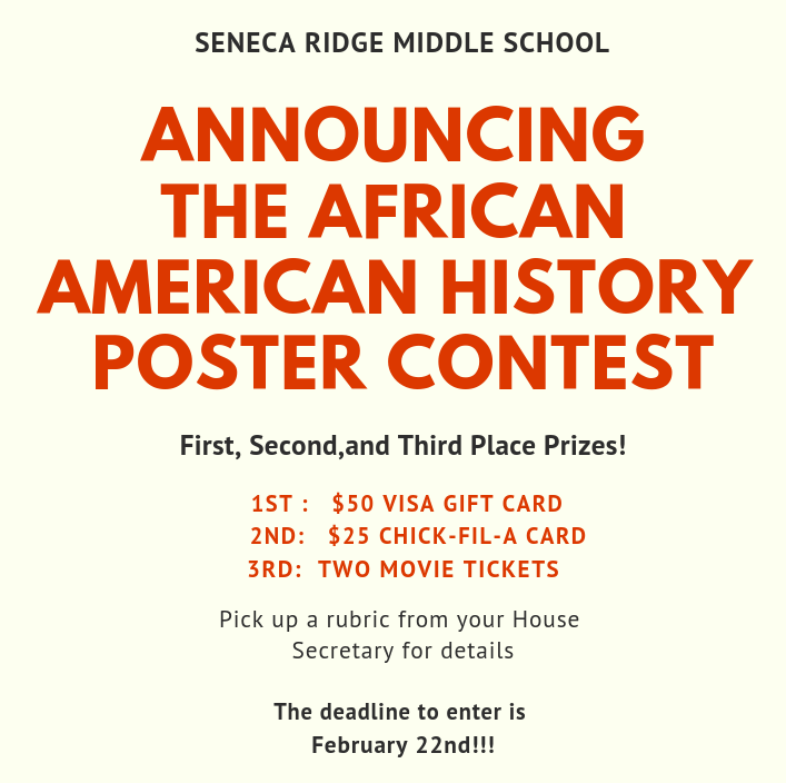 African-American History Poster Contest
