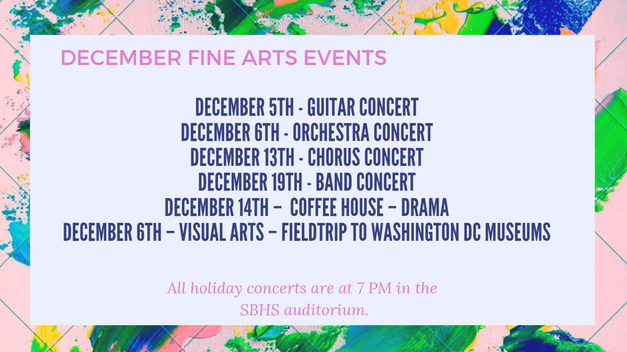 Fine Arts Events
