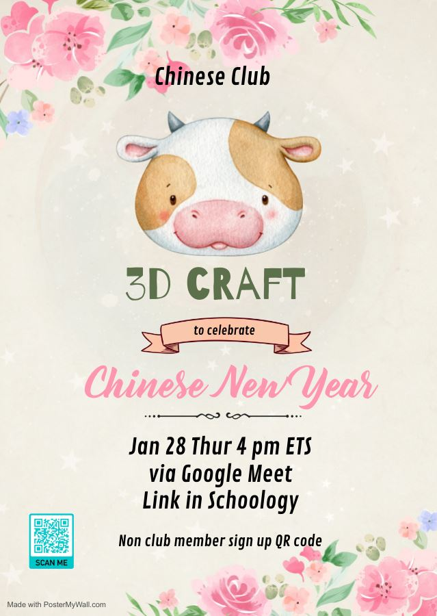 Chinese New Year 3D Craft