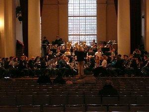 Rehearsal at St. Johns at Smith's Square