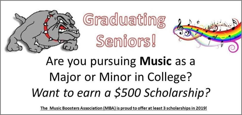 Music Booster Scholarships