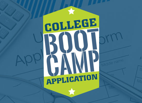College Application Boot Camp