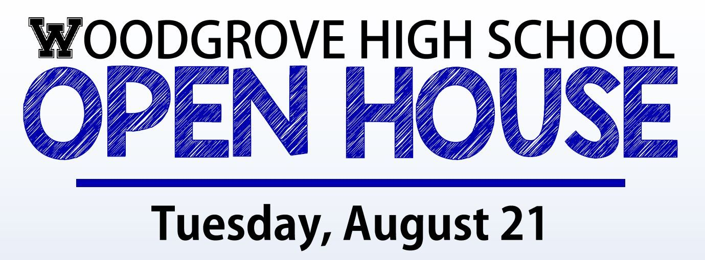 Open House - Tuesday, August 21