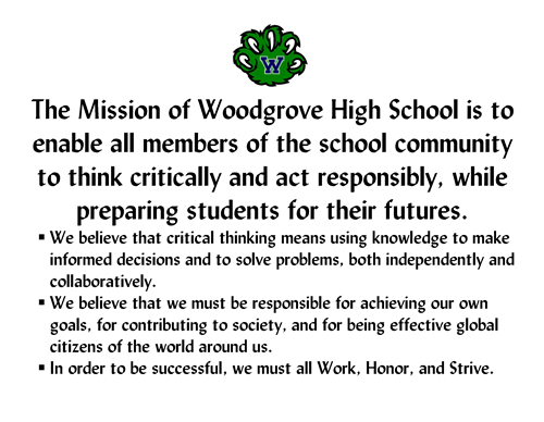 WHS Mission Statement