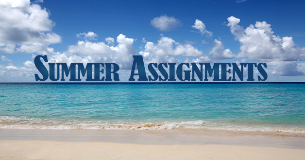 Summer 2018 Assignments