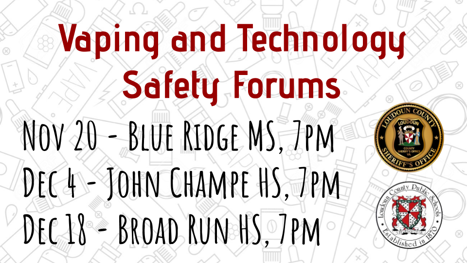 LCSO and LCPS Vaping and Technology Safety Forums