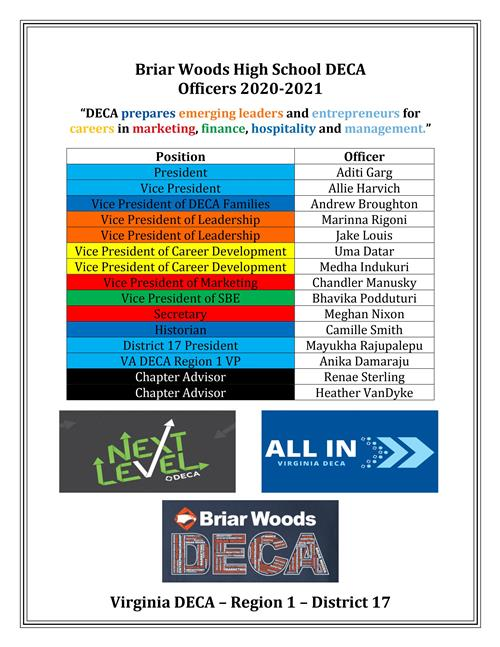 2020-2021 BW Officers
