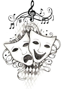 music and masks