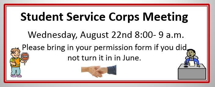 Student Service Corps