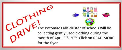 Cluster Clothing Drive