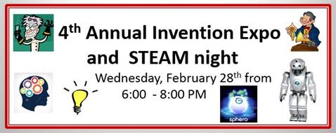 Invention Expo and STEAM night