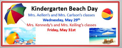 Kindergarten Beach Day