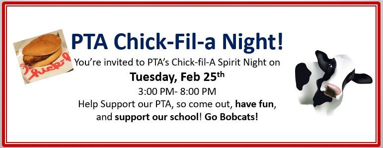 PTA Chick-Fil-a Night