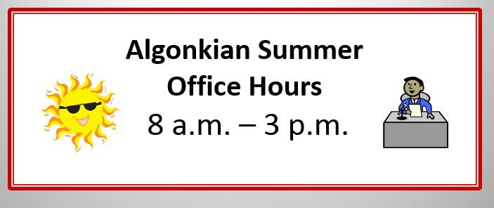 School Summer Hours