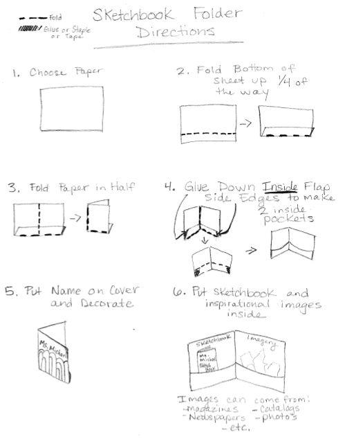 Folder Directions