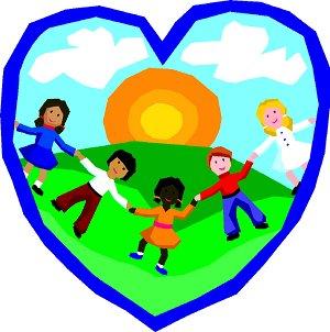 Children in heart