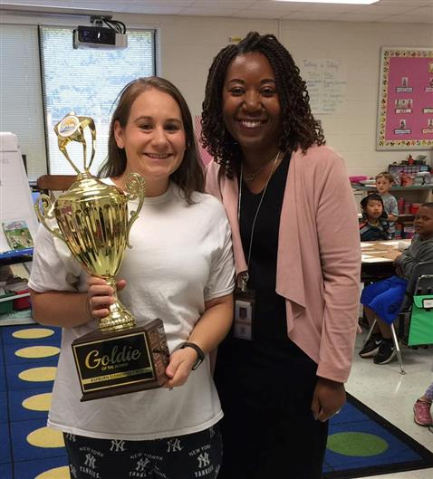 October 2017 Goldie of the Month- Mrs. Pittman