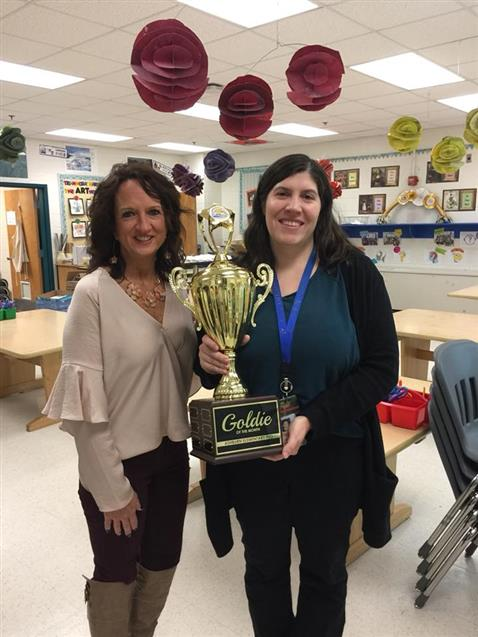 January 2018 Goldie of the Month- Mrs. Zachmann