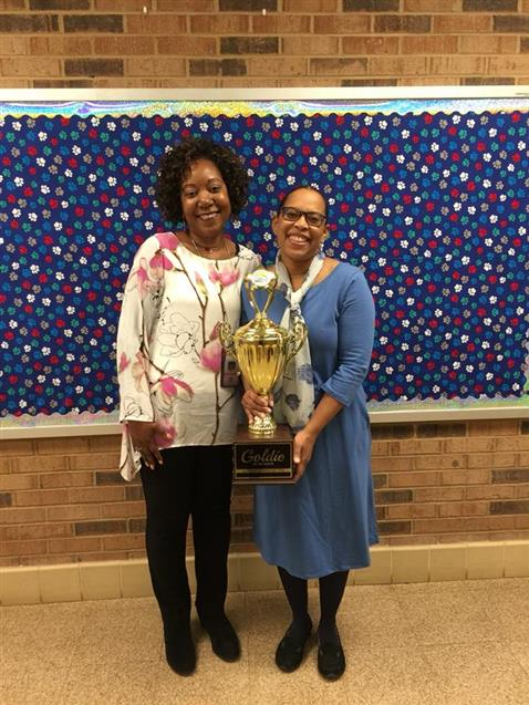 March 2018 Goldie of the Month- Mrs. Howe-Freeman