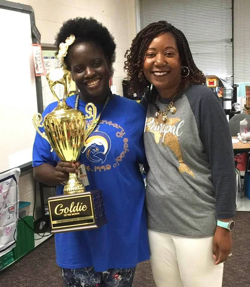 October 2018 Goldie of the Month- Ms. Kante