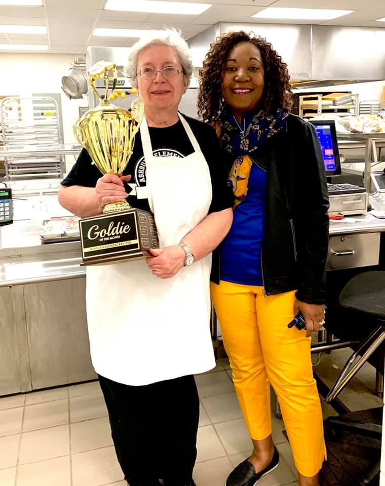 April 2019 Goldie of the Month- Darline Taylor